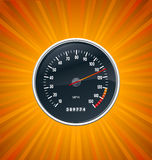 Speedometer burst background Stock Image