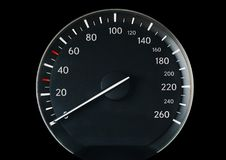 Speedometer of a car Royalty Free Stock Photos