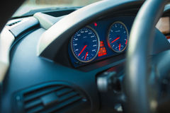 Speedometer in the car Stock Image
