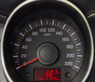 Speedometer close up Stock Image