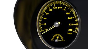 Speedometer Royalty Free Stock Photos
