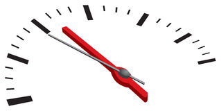 Speedometer Closeup Vector Stock Photography