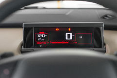 Speedometer cluster Stock Photography