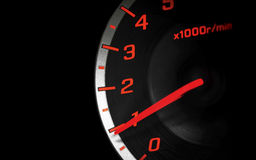 Speedometer in the dark Royalty Free Stock Images