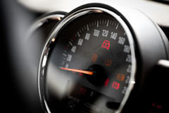 Speedometer detail Royalty Free Stock Image