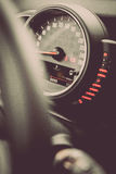 Speedometer detail Stock Images