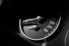 Speedometer detail Royalty Free Stock Photos