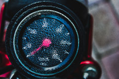 Speedometer with dew Stock Photography