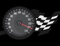 Speedometer. Icon for design Stock Image