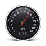 Speedometer. Illustration  on a white background Royalty Free Stock Photo