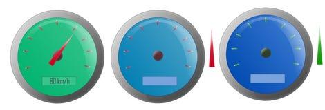 Speedometer Illustrations Stock Image