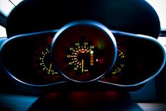 Speedometer Lights Stock Photography