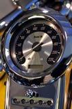 Speedometer of motorbike Stock Photo