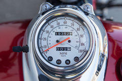 Speedometer motorcycle bike Royalty Free Stock Photography