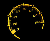 Speedometer motorcycle Royalty Free Stock Photos