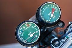 Speedometer motorcycle Stock Photo