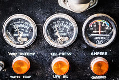 Speedometer motorcycle Royalty Free Stock Image