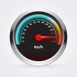 speedometer också vektor för coreldrawillustration Fotografering för Bildbyråer