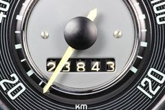 Speedometer and odometer Stock Photography
