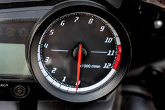 Speedometer , Part of Motorcycle Royalty Free Stock Photography