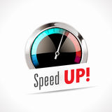 Speedometer - Speed up Stock Images