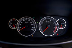 Speedometer - Tachometer Stock Images