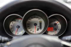 Speedometer, tachometer and fuel #2 Stock Photography