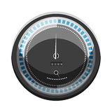 Speedometer to calculate speed icon, cartoon style Stock Image