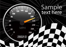 Speedometer vector illustration Royalty Free Stock Image