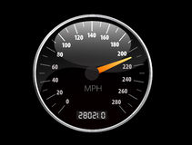Speedometer Vector illustration Royalty Free Stock Images
