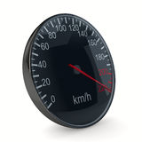 Speedometer on white background Royalty Free Stock Image