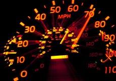 Speedometer Zoom Royalty Free Stock Photos