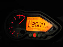 Speedometer2009 fotos de stock royalty free