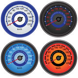 Speedometers Royalty Free Stock Photos