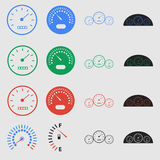 Speedometers Royalty Free Stock Photo