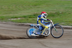 Speedway Driver Stock Photography