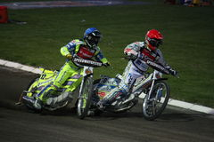 Speedway Grand Prix in Prague Stock Images