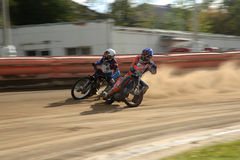 Speedway race Stock Image
