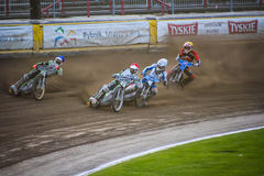 Speedway race Royalty Free Stock Images