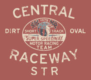 Speedway racing team Royalty Free Stock Photo