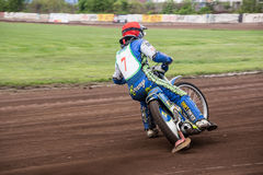 Speedway rider Royalty Free Stock Photography