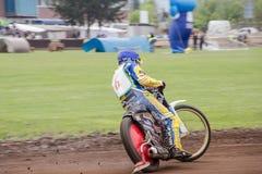 Speedway rider Stock Photos