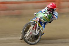 Speedway rider Leigh Adams Royalty Free Stock Photo
