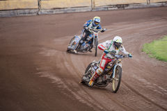 Speedway riders Royalty Free Stock Photos