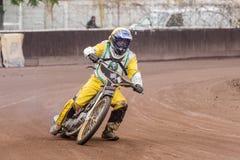 Speedwaybaanruiter Stock Afbeeldingen