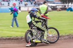 Speedwaybaanruiter Stock Foto's