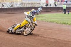 Speedwaybaanruiters Stock Afbeeldingen
