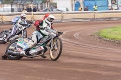 Speedwaybaanruiters Stock Foto's
