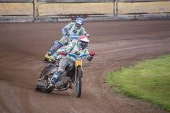 Speedwayreiter Lizenzfreies Stockbild