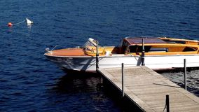 Speedy Boat on Crystal Blue Water stock footage